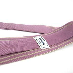 DUCHAMP Tie Champagne Pink Vertical Stripes Slim